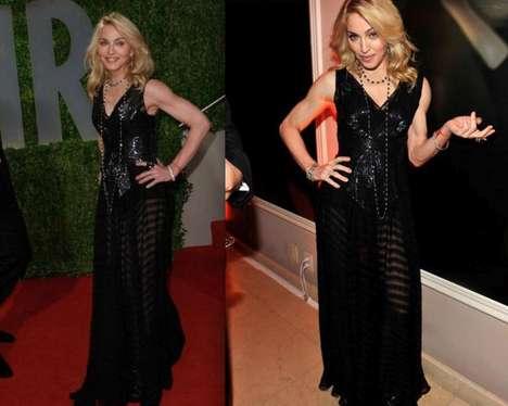 Transparent Hollywood Fashion