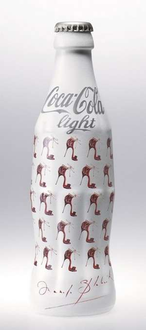 Couture Coke Bottles - Manolo Blahnik Dresses Yet Another Coca-Cola Light Bottle