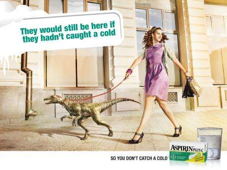 Aspirin Ad Show Us Why the Dinosaur Became Extinct