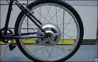 Bicycle Conversions - GreenWheel Swap-Out Creates Eco Electric-Assist Transportation