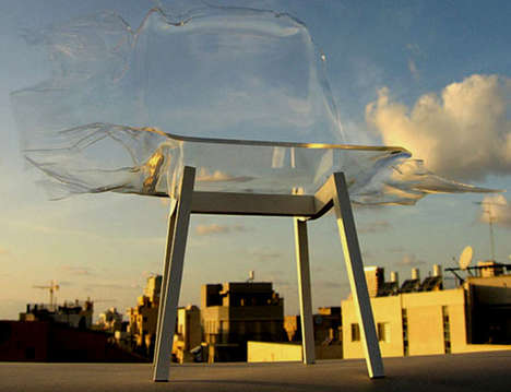 Intentionally Smashed Seating - Torn 'Fracture' Chairs by Itay Ohaly Are Made of Broken Benches