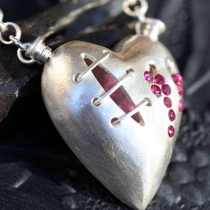Broken Heart Bling - Breakup Jewelry By Etsy Artists Symbolize Broken Romance