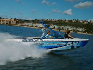 Hybrid Speedboats - Gas-Electric Epic 23E is Perfect for Eco-Conscious Watersports