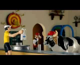 Stop-Motion Milk Ads