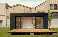 Minimalist Wooden Homes