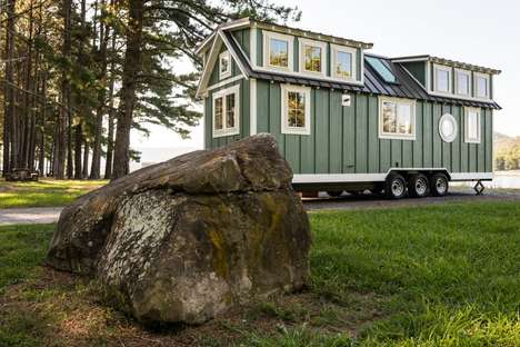 The Ridgewood Tiny Home Features Dual Lofts For Added Spaciousness