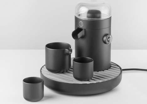 Ultrasonic Extraction Tea Brewers - The 'TEAMOSA' Tea Brewing Machines Ensure Perfected Brews