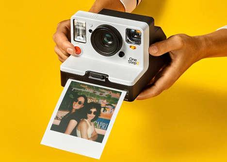 Modernized Retro Instant Cameras