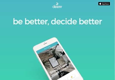 Crowdsourced Decision-Making Apps - 'Deemr' Lets Users Provide Input on Others' Decisions