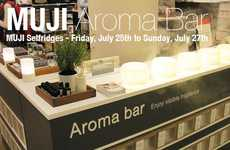 In-Store Aromatherapy Bars - Muji Introduced an 'Aroma Bar' to Selfridges' London Flagship