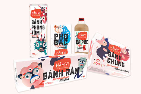 Vietnamese-Inspired Food Branding - 'NAM VI' Introduces a Contemporary Take on Traditional Cuisine