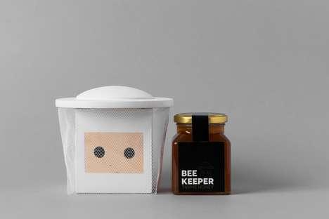 Beekeeper-Inspired Honey Packaging