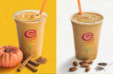 Pumpkin Spice Protein Smoothies - The Jamba Juice Pumpkin Protein Smoothie is Nutrient-Dense