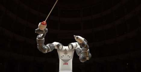 Orchestral Robotic Arms