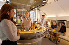 Luxury In-Flight Lounges
