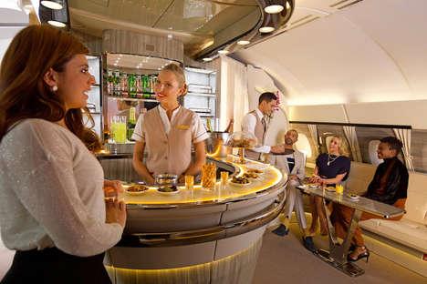 Luxury In-Flight Lounges