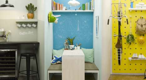 Mobile Room Makeovers - Lowe's Hacked Instagram Stories by Transforming a Small-Scale Vertical Room