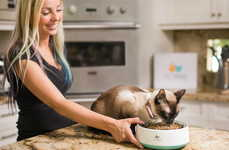 Kitty Fitness Trackers - PetMio's Collar and Bowl Help Owners Track Their Pets' Activity