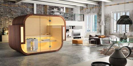 Self-Contained Prefab Saunas