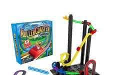 Theme Park Engineer Games - The ThinkFun Roller Coaster Challenge Logic Game is Educational
