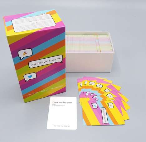 Intimate Social Card Games - 'You Think You Know Me' Challenges Perceptions of Friendships