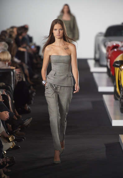 Classic Car Fashion Shows - The Ralph Lauren Fall/Winter Line Was Debuted Next to Retro Vehicles