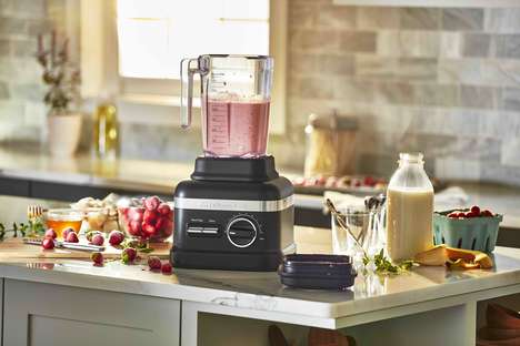 Advanced Horsepower Blenders - The KitchenAid High Performance Series Blender Boasts 3.0 Horsepower