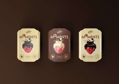 Decadently Dipped Berry Snacks - Hortex's 'Moments' Introduces Grab-and-Go Chocolate-Covered Berries