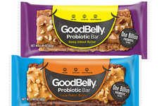 Probiotic Snack Bars - GoodBelly's On-the-Go Snack Bars Have a Billion Probiotics Per Serving