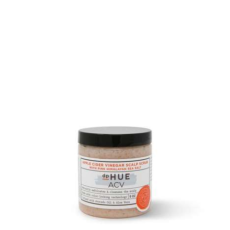 Vinegar-Based Scalp Scrubs - dpHUE Offers an Effective Apple Cider Vinegar Scrub or the Scalp