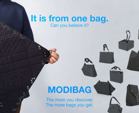 Infinitely Foldable Fabric Bags