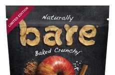 Spiced Guilt-Free Fruit Chips - The bare Pie Spice Apple Chips Taste Like a Slice of Sweet Pie