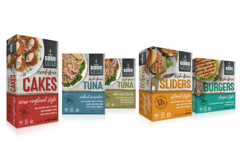 Vegan Seafood Products - Good Catch Foods is Launching as Creator of Plant-Based Fish Alternatives