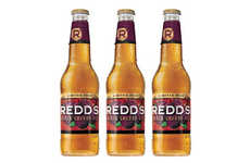 Limited-Edition Cherry Beers - The Redd's Black Cherry Ale is Fresh, Fruity and Fragrant