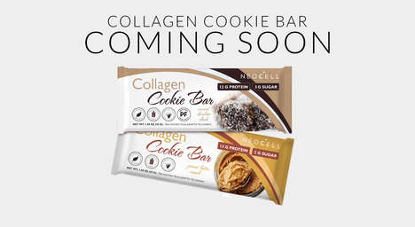 Collagen-Rich Cookie Bars - NeoCell's Cookie Bars Boast 12 to 13 Grams of Protein Per Serving