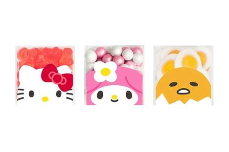 Anime-Branded Candy Collaborations