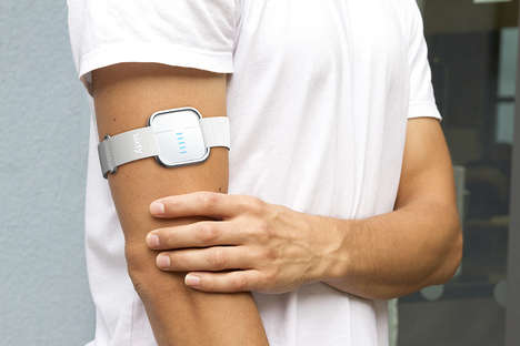 App-Enabled Hydration Monitors - The Sixty Hydration Monitor Can Read Hydration Levels Through Skin