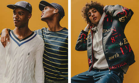 Preppy Streetwear Editorials - Nautica and Urban Outfitters Launched a New Line for the Fall/Winter