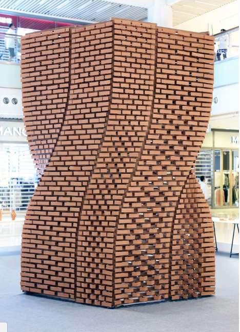 Printed Brick Pavilions