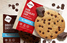 High-Protein Cookies - NuGo Makes Sweet Protein Snacks in a Familiar Form