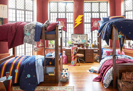 Wizardly Bedroom Collections - PBteen Launched a Magical Harry Potter Bedroom Collection