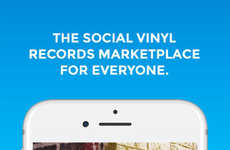 Social Vinyl Marketplace Apps