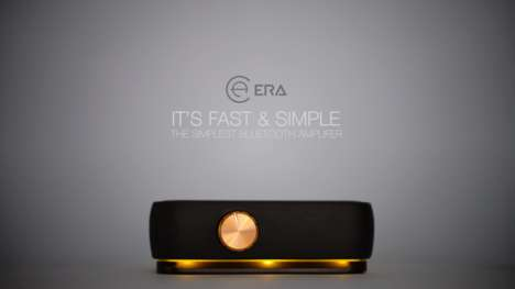 Customizable Bluetooth Speaker Accessories - The 'ERA' Bluetooth Amplifier Enables Personalization