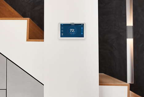 Energy Use-Curbing Thermostats - The Bosch BCC100 Connected Control Thermostat is Intuitive to Use