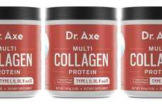 Collagen-Enriched Powder Supplements - The Dr. Axe Multi Collagen Protein Powder Boosts Any Meal