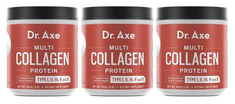 Collagen-Enriched Powder Supplements