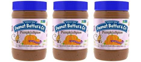 Autumn-Inspired Peanut Butters
