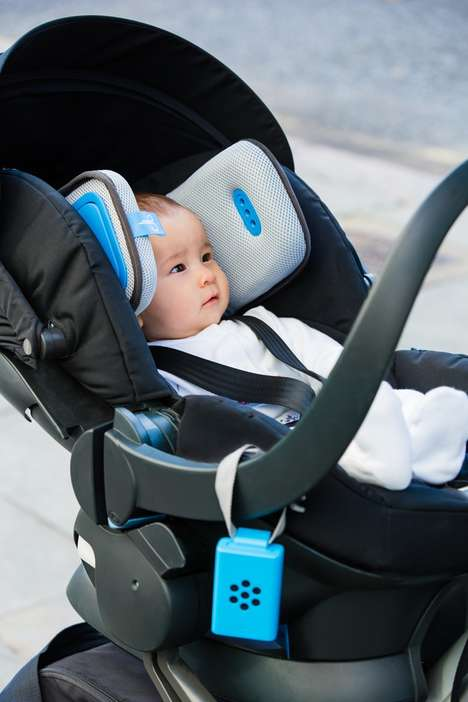 Protective Anti-Pollution Infant Cushions - Brizi Ensures That Infants Breathe in Clean Air