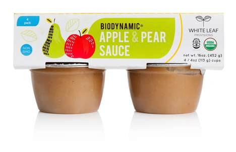 Biodynamic Applesauce Snacks