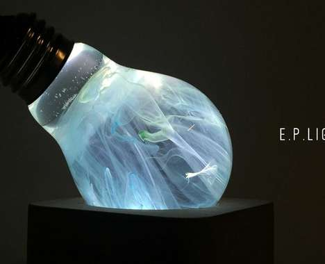 Ethereal Bulb-Like Lamps